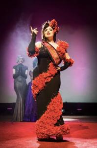 Sugar du Joure at Miss Burlesque WA competition 2016