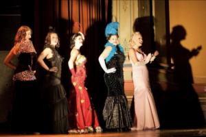 Sugar du Joure at Miss Burlesque WA competition